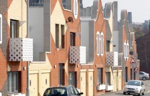 Continuous exterior facade