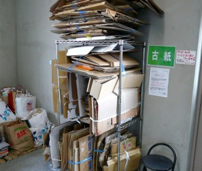 Cardboard-Recycling-Tower