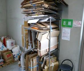 Cardboard-Recycling-Tower