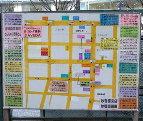Hand Made Shopping Map