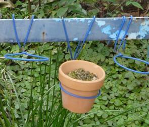 Wire Potplant Hangers